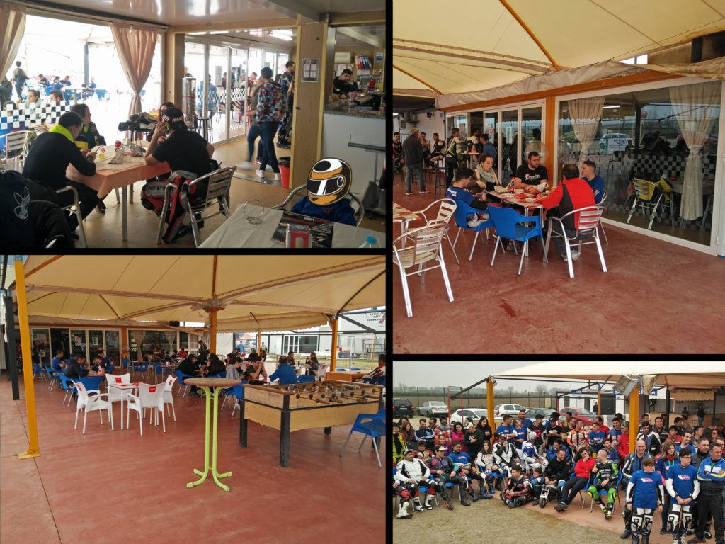 Bar cafeteria de karting en Sevilla