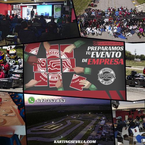 eventos de empresa Karting Sevilla