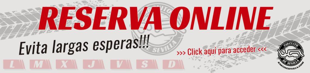 Reservas Karting Sevilla